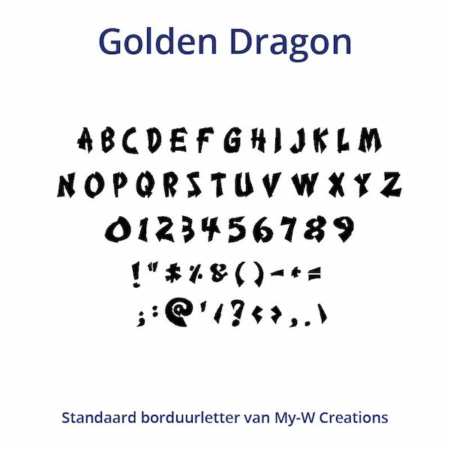 Borduurletters_Golden-Dragon_My-W-Creations