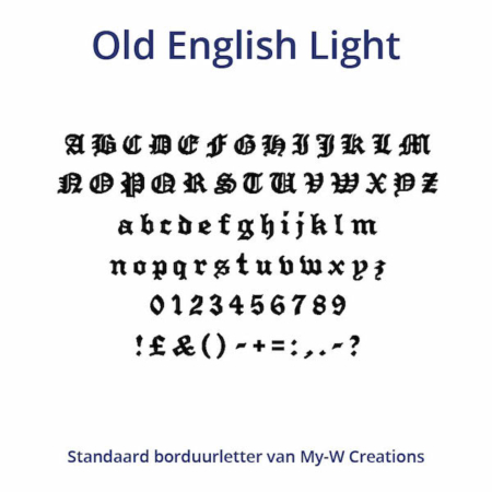 Borduurletters_Old-English-Light_My-W-Creations
