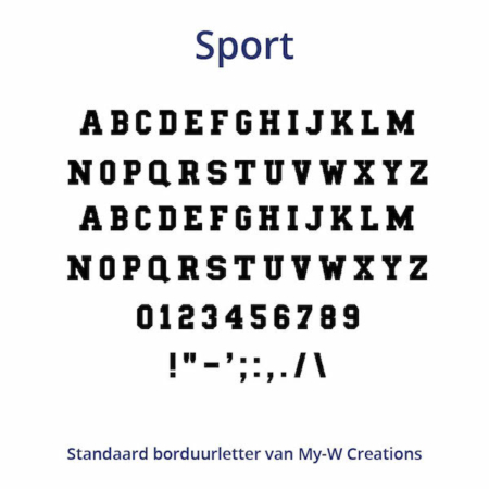 Borduurletters_Sport_My-W-Creations