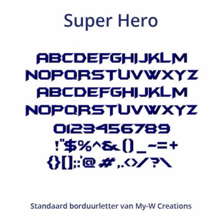 Borduurletters_Super-Hero_My-W-Creations