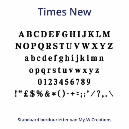 Borduurletters_Times-New_My-W-Creations