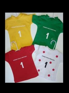 Mini t-shirts bedrukt door My-W Creations